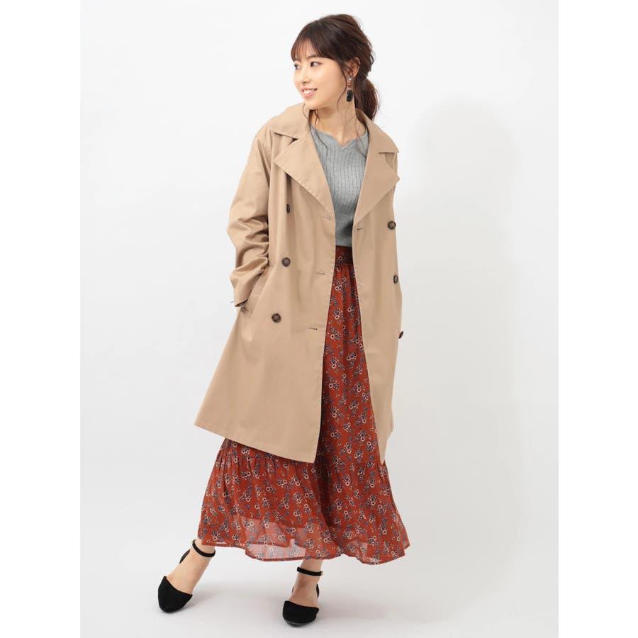 ・RAYCASSINレトロ花柄ティア-ドスカート 2