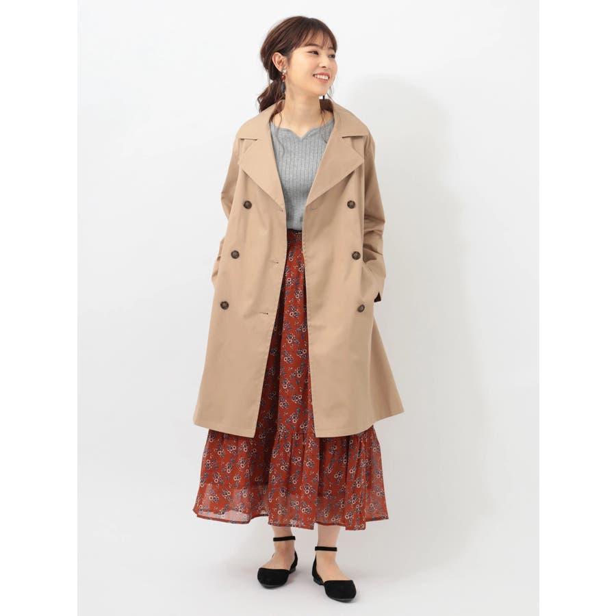 ・RAYCASSINレトロ花柄ティア-ドスカート 3