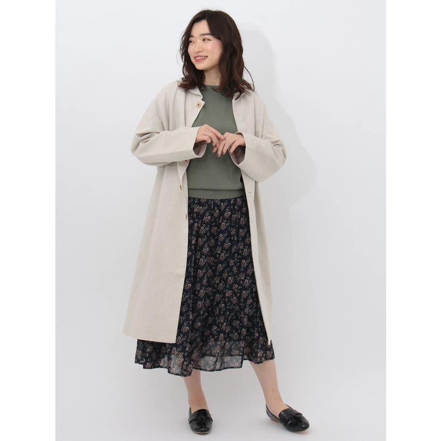 ・RAYCASSINレトロ花柄ティア-ドスカート 5