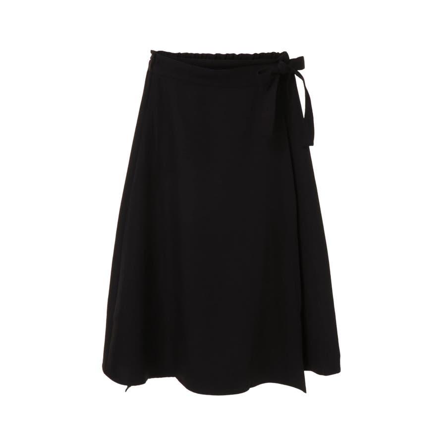 リネン風ラップスカート 21
