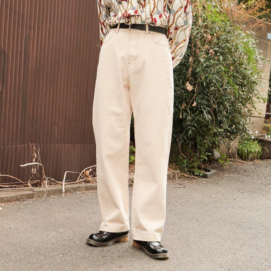 【kutir】ハイウエストストレートデニムパンツ 17