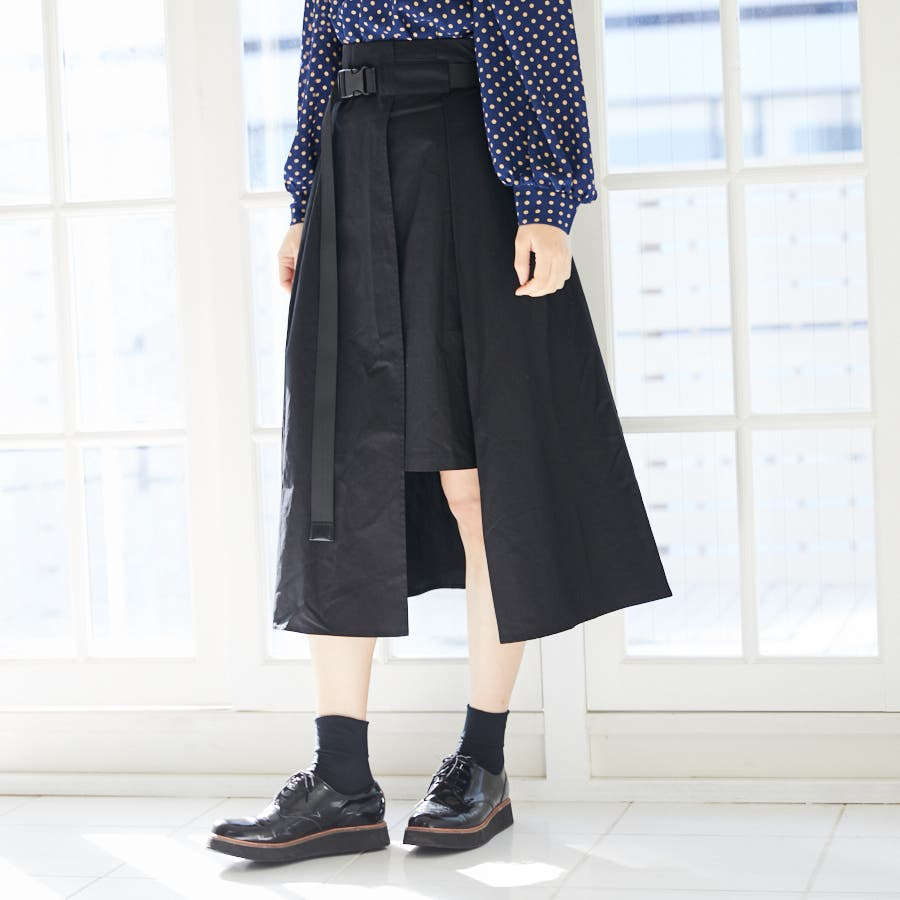 【BYV】ガチャベルト付スカート 3