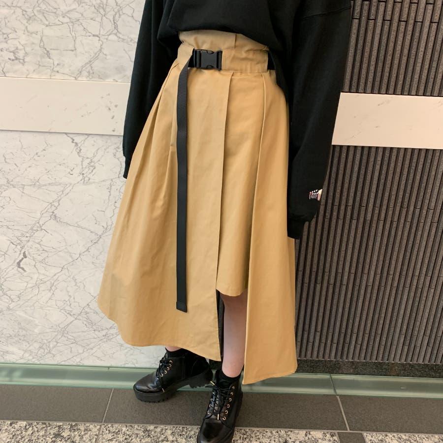 【BYV】ガチャベルト付スカート 5