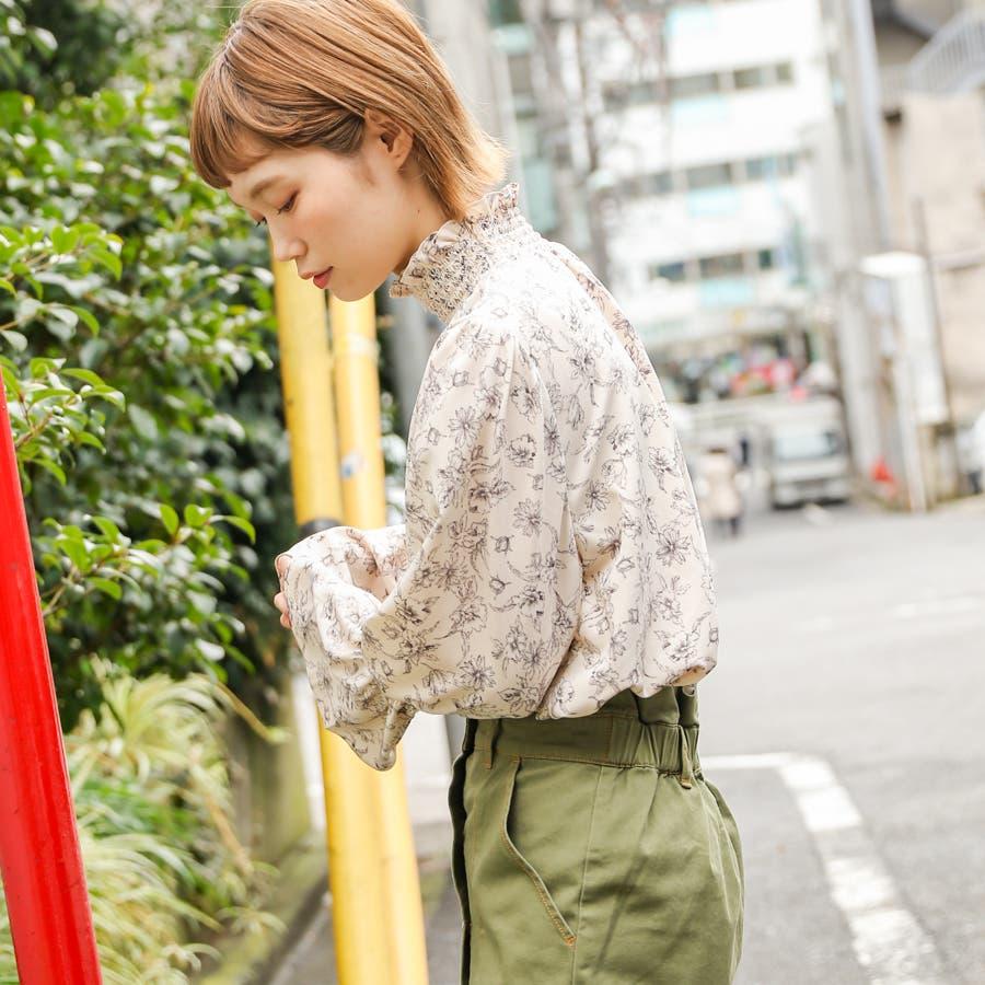 【kutir】シャーリングブラウス 7