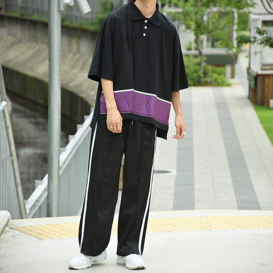 【kutir】配色ポロシャツ 1