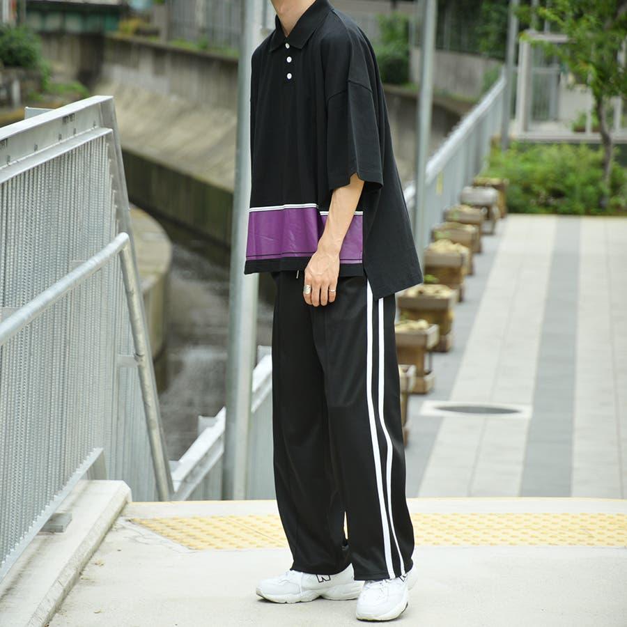 【kutir】配色ポロシャツ 2