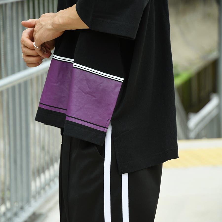 【kutir】配色ポロシャツ 6