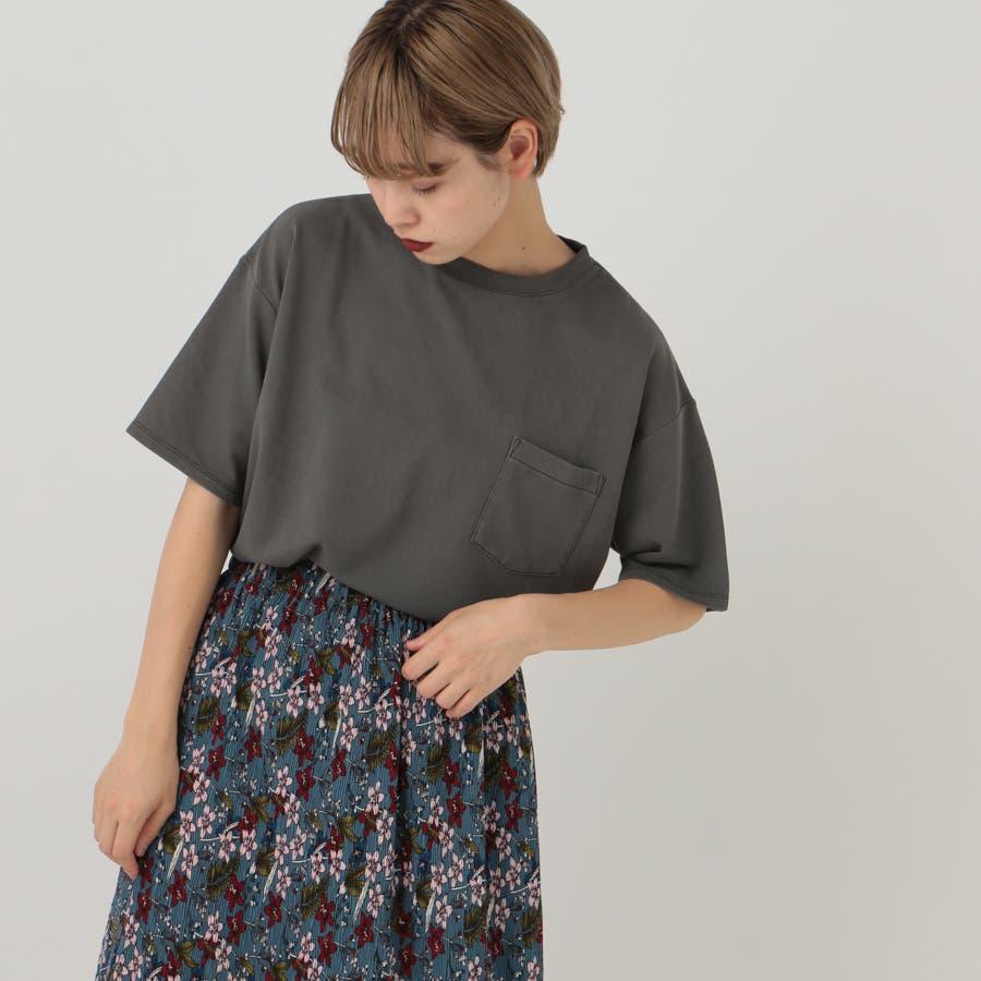 【kutir】ピグメントTシャツ 1