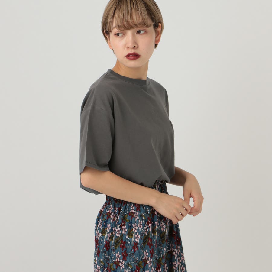 【kutir】ピグメントTシャツ 2