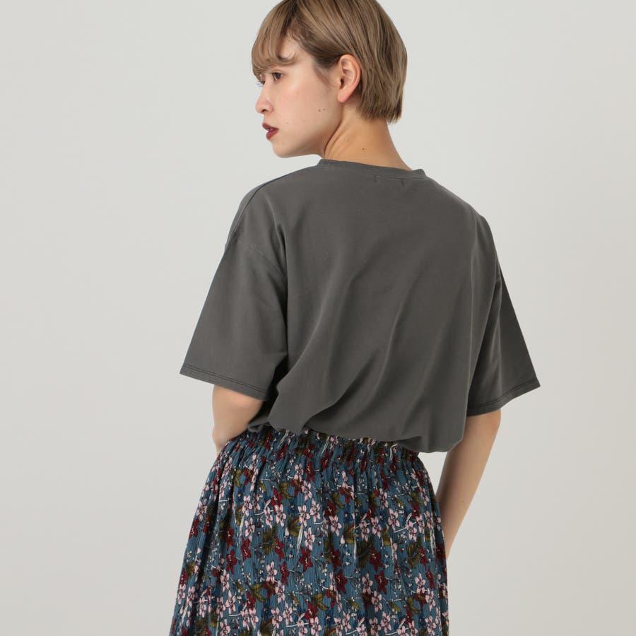 【kutir】ピグメントTシャツ 3