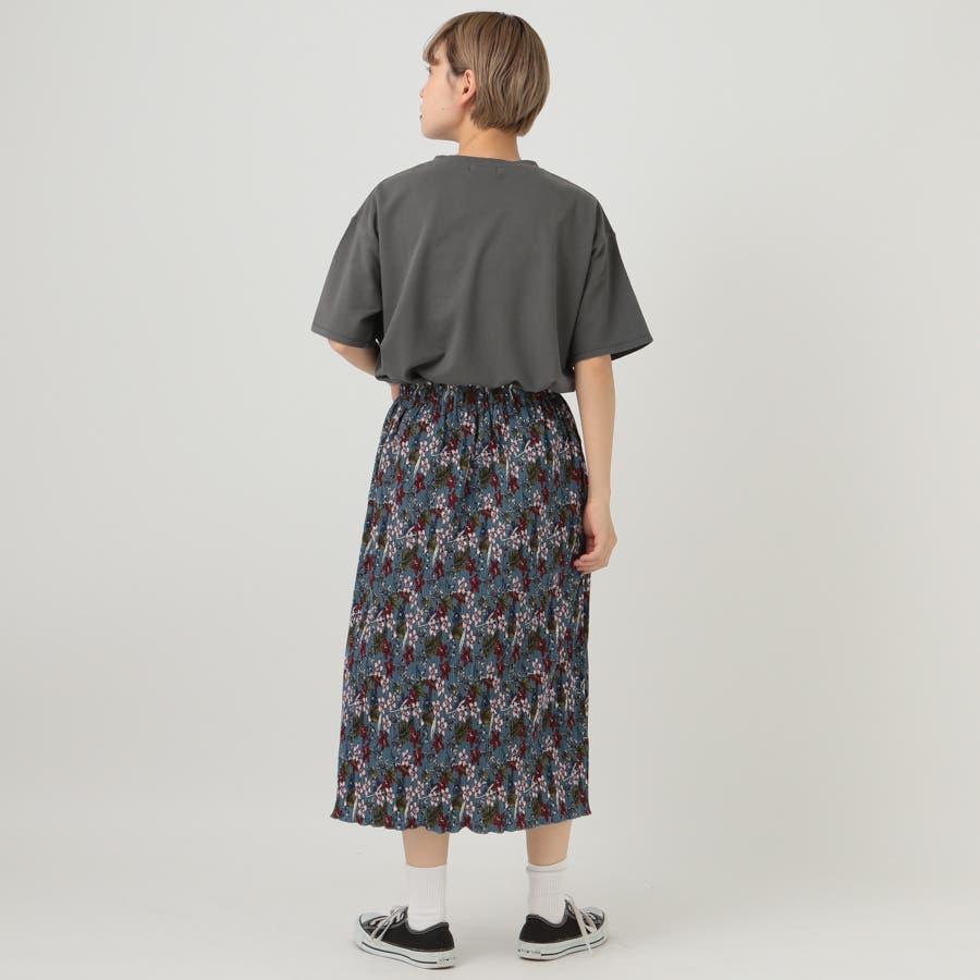 【kutir】ピグメントTシャツ 6