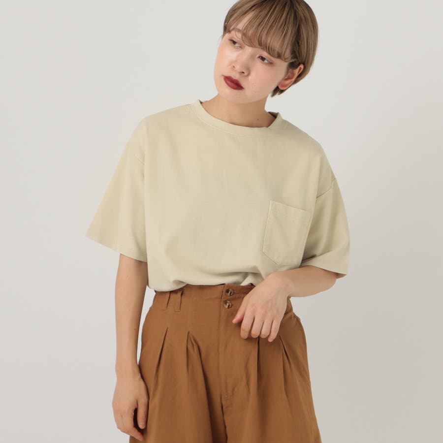 【kutir】ピグメントTシャツ 5