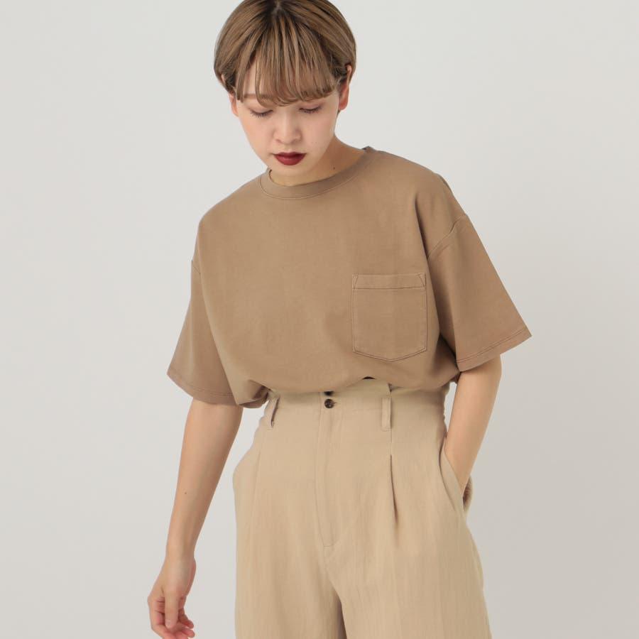 【kutir】ピグメントTシャツ 4