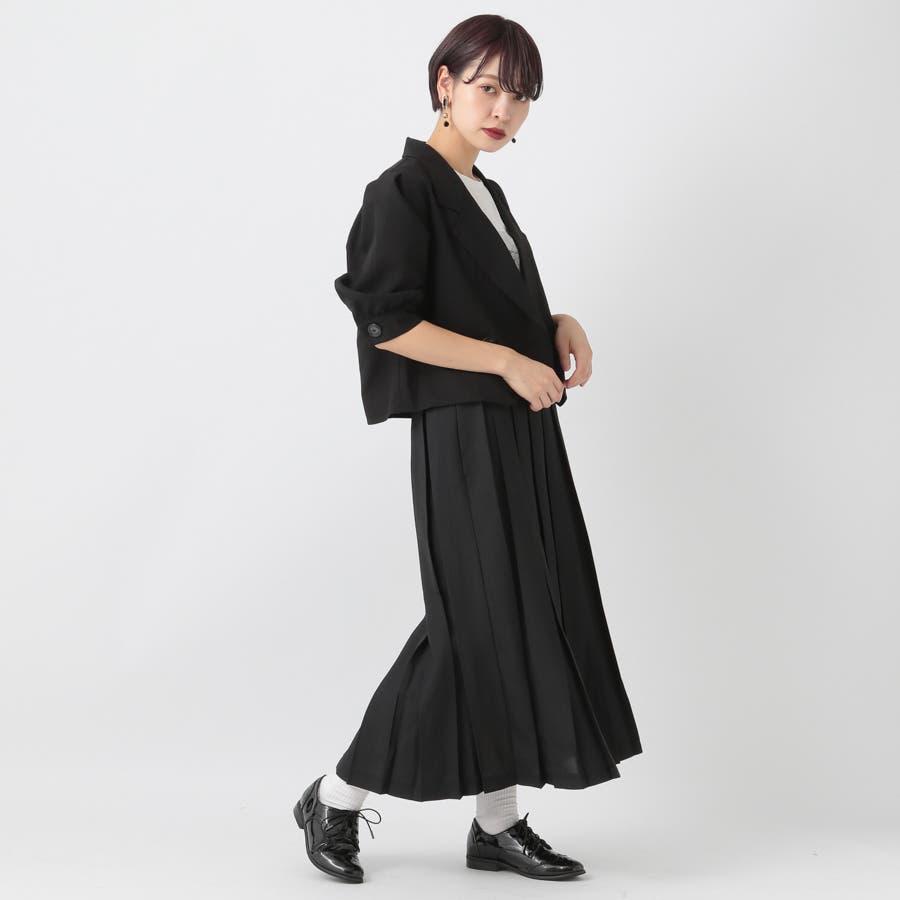 【kutir】【セットアップ】パワショルジャケット 5