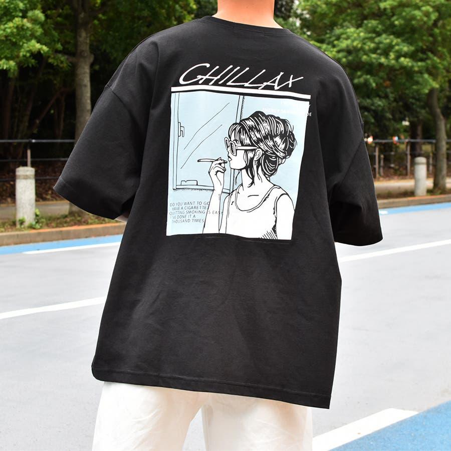 【Adoon plain】ロックアソートプリントTシャツ 1