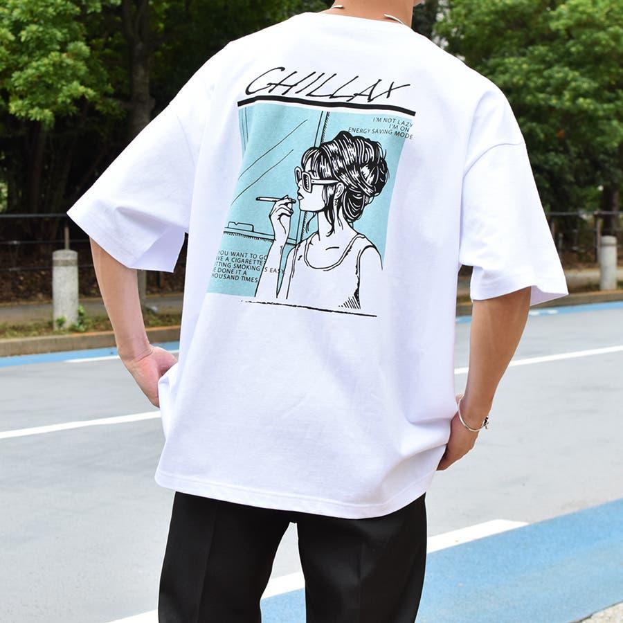 【Adoon plain】ロックアソートプリントTシャツ 5