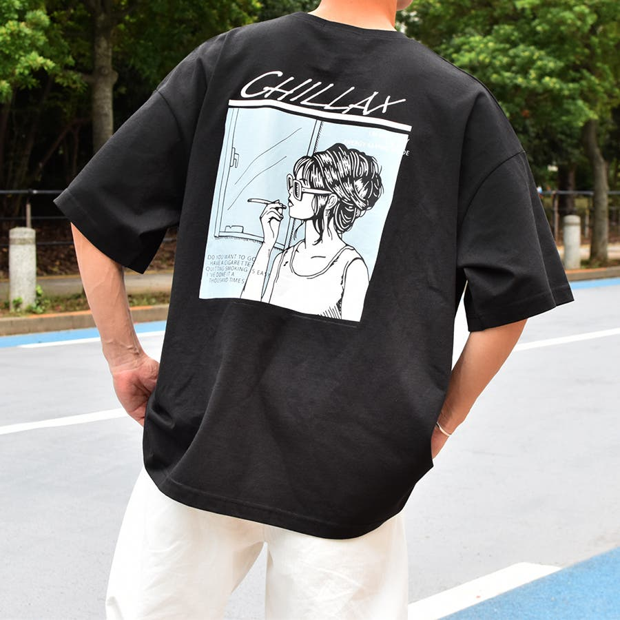 【Adoon plain】ロックアソートプリントTシャツ 21