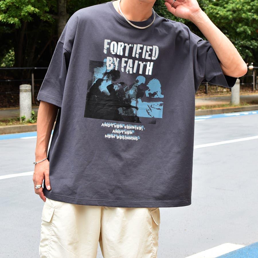 【Adoon plain】ロックアソートプリントTシャツ 26