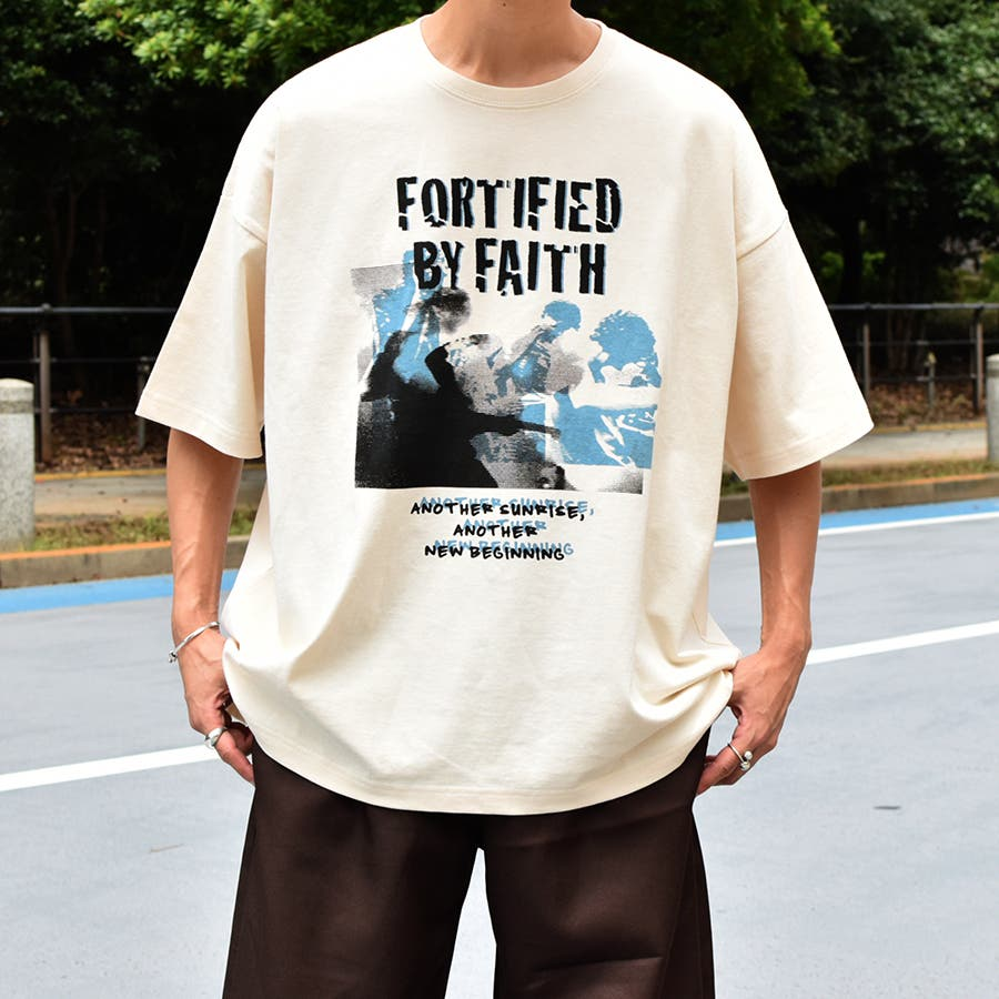 【Adoon plain】ロックアソートプリントTシャツ 18