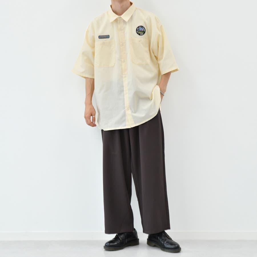 【kutir】ワッペンシャツ 5