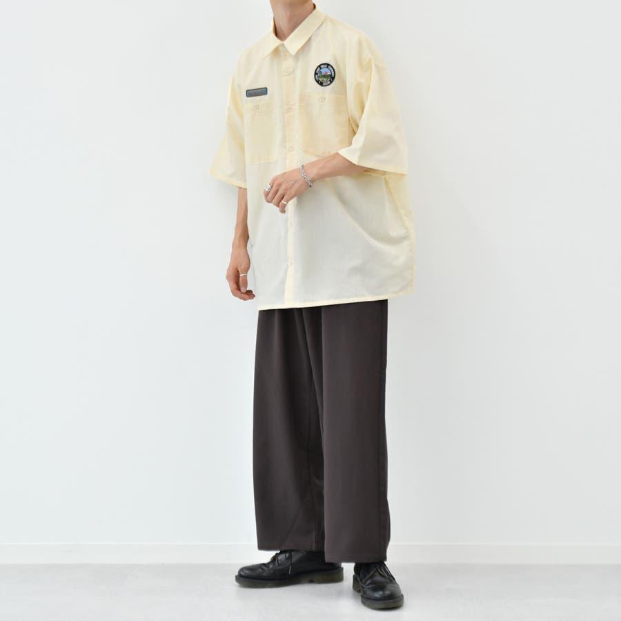 【kutir】ワッペンシャツ 6