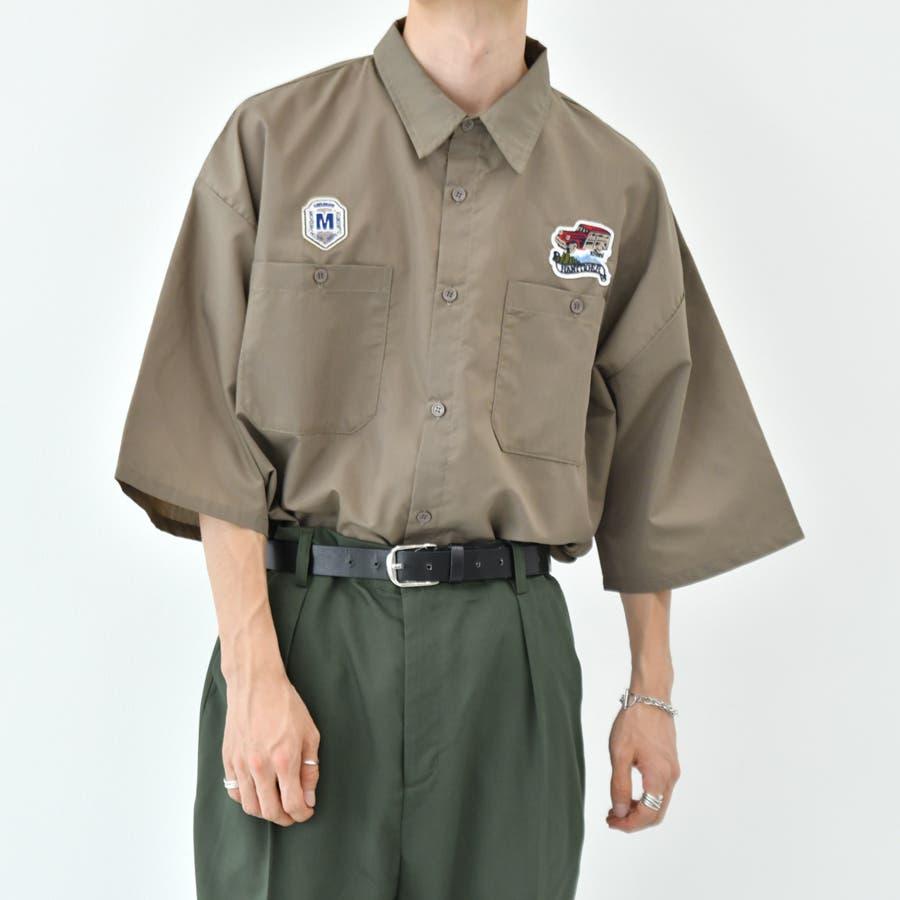 【kutir】ワッペンシャツ 31