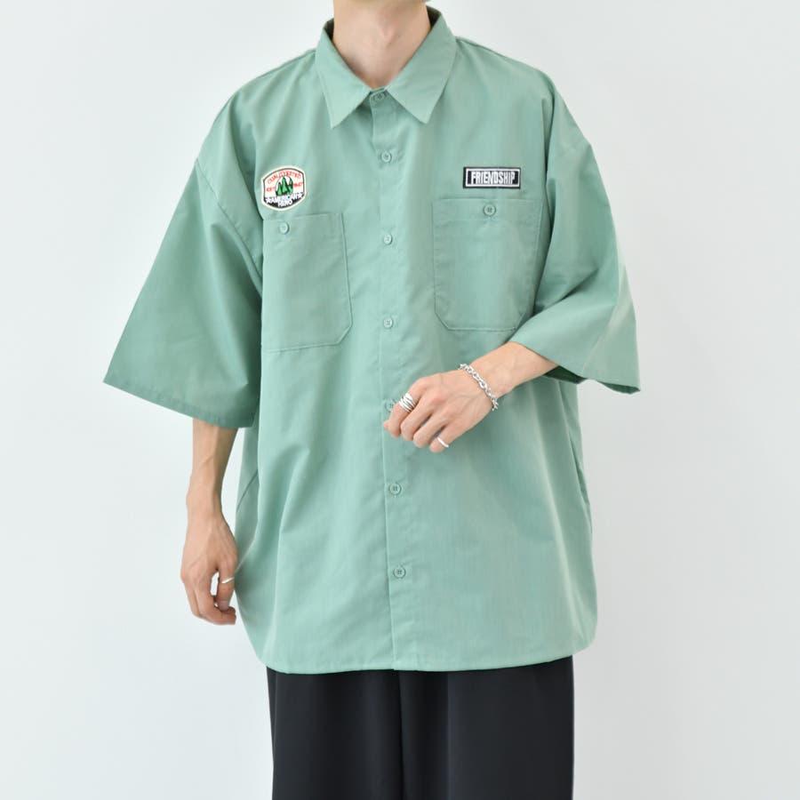 【kutir】ワッペンシャツ 48