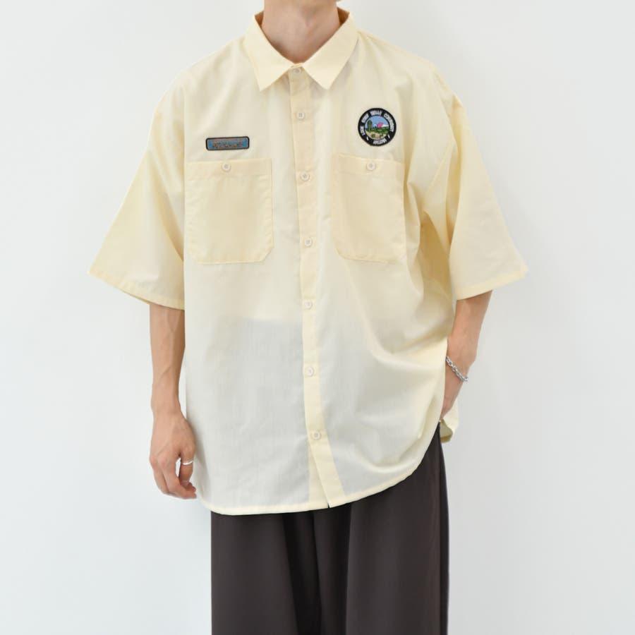 【kutir】ワッペンシャツ 18