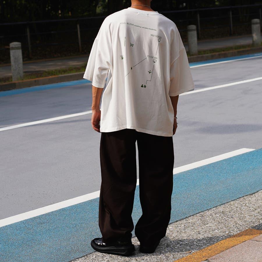 【Adoon plain】アソートロゴビックTシャツ 3
