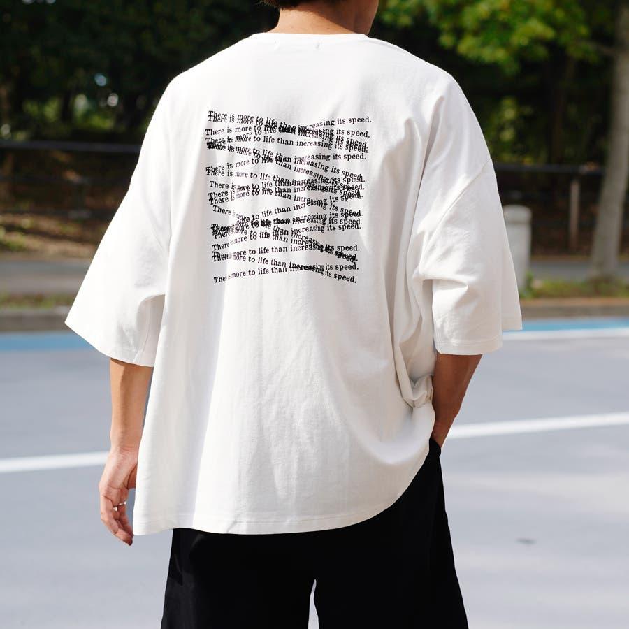 【Adoon plain】アソートロゴビックTシャツ 1