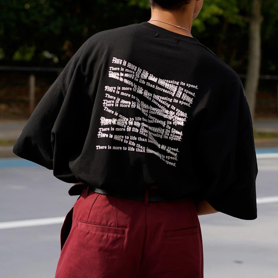 【Adoon plain】アソートロゴビックTシャツ 21