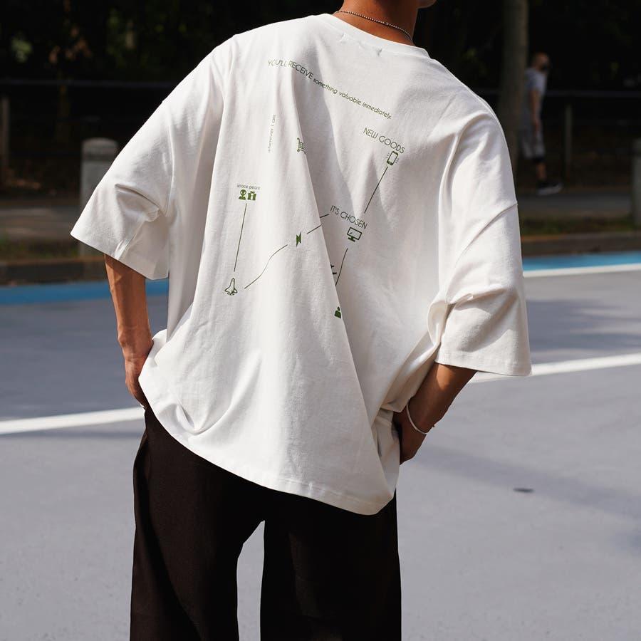 【Adoon plain】アソートロゴビックTシャツ 108