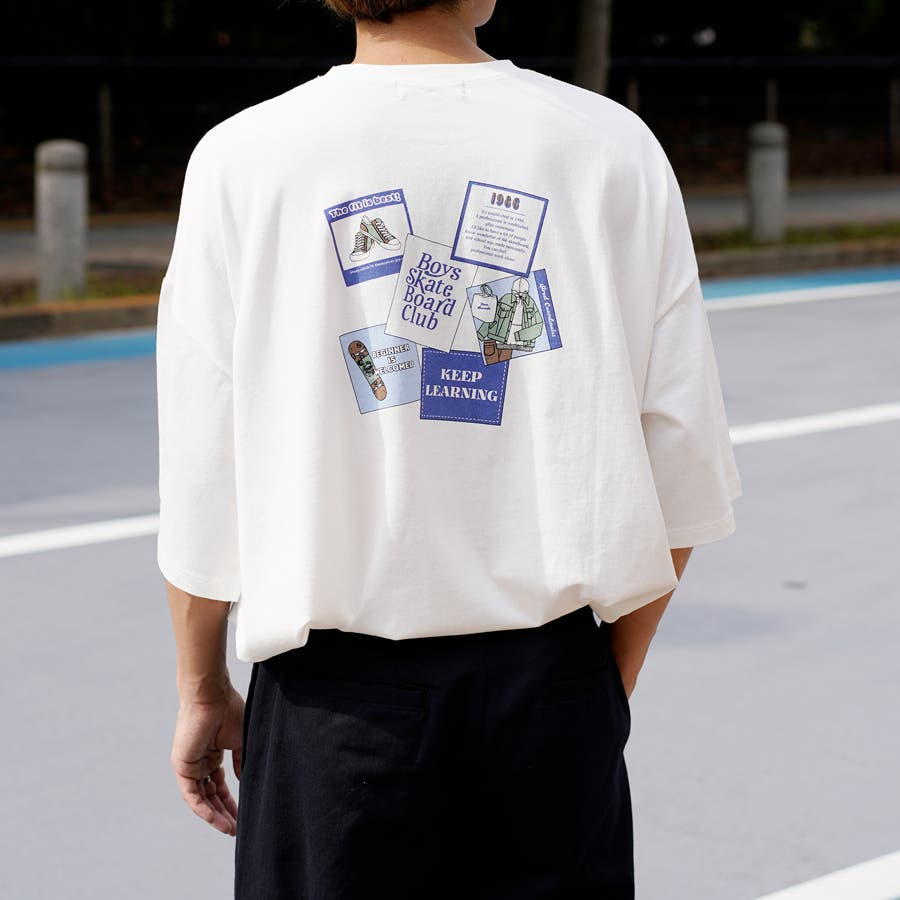 【Adoon plain】アソートロゴビックTシャツ 17