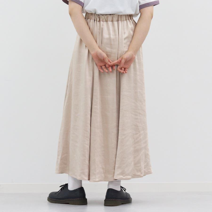 【kutir】ヴィンテージサテンマーメイドスカート 3