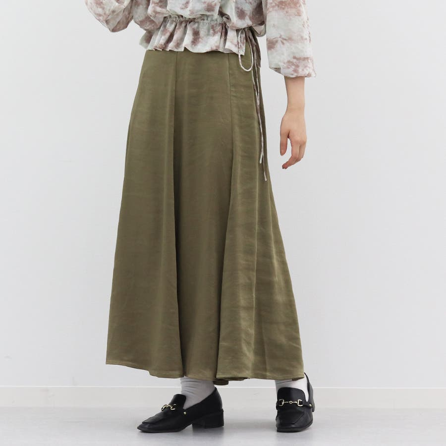 【kutir】ヴィンテージサテンマーメイドスカート 53
