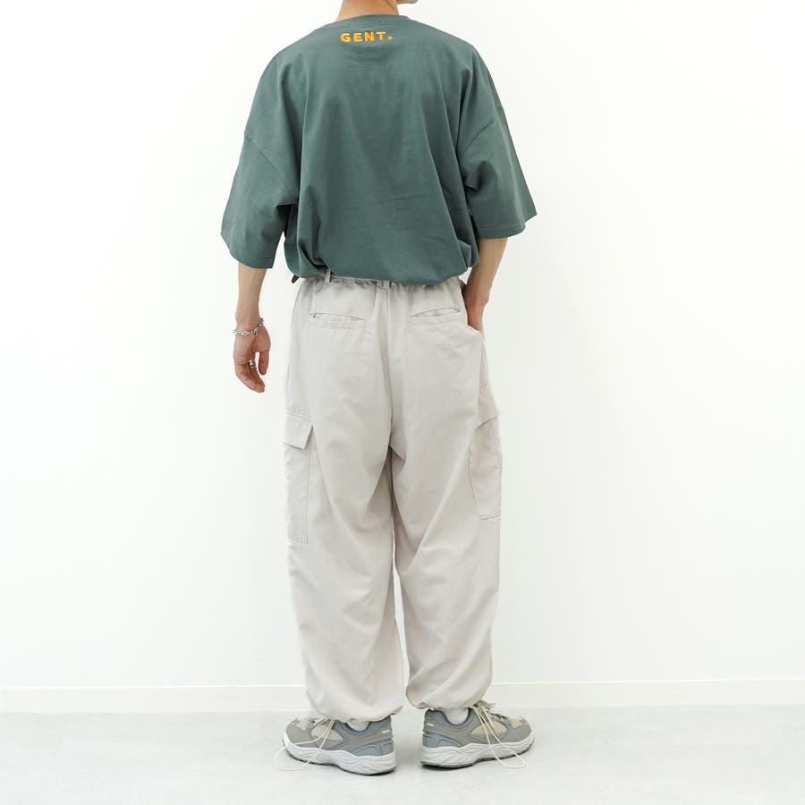 【kutir】ドローコードワイドパンツ 5