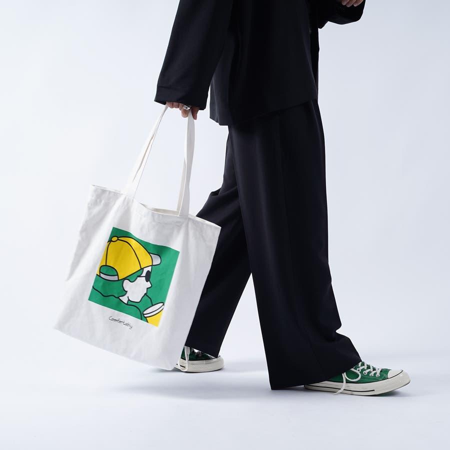 【kutir】アートプリントトートバッグ 2