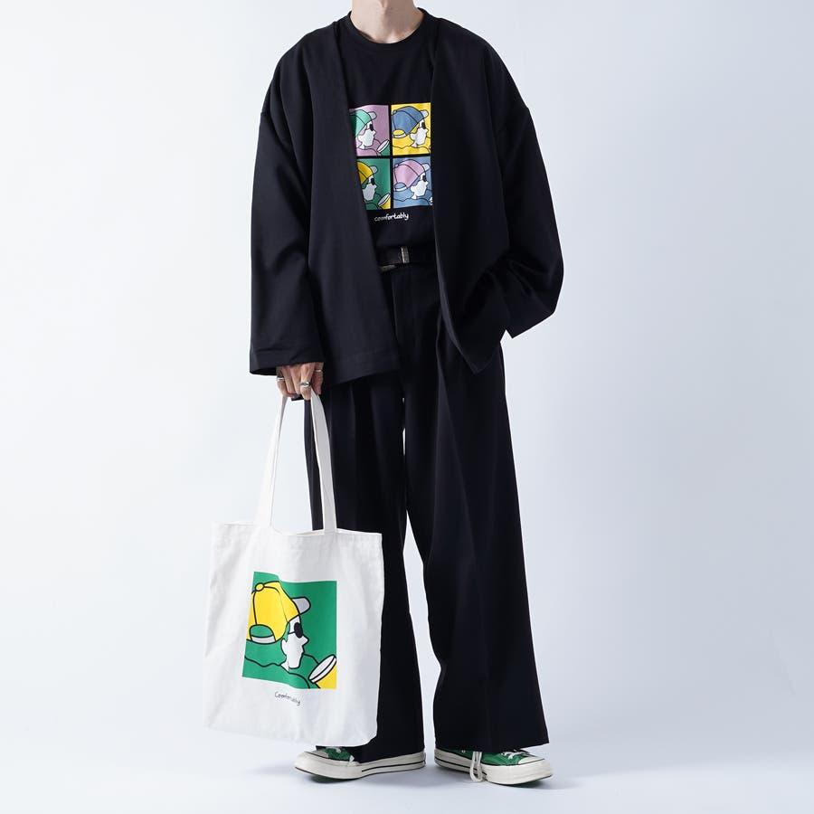 【kutir】アートプリントトートバッグ 3