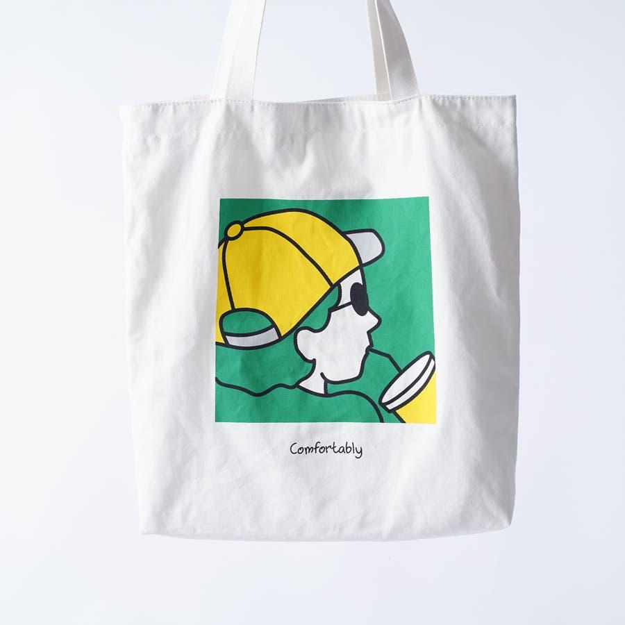 【kutir】アートプリントトートバッグ 5