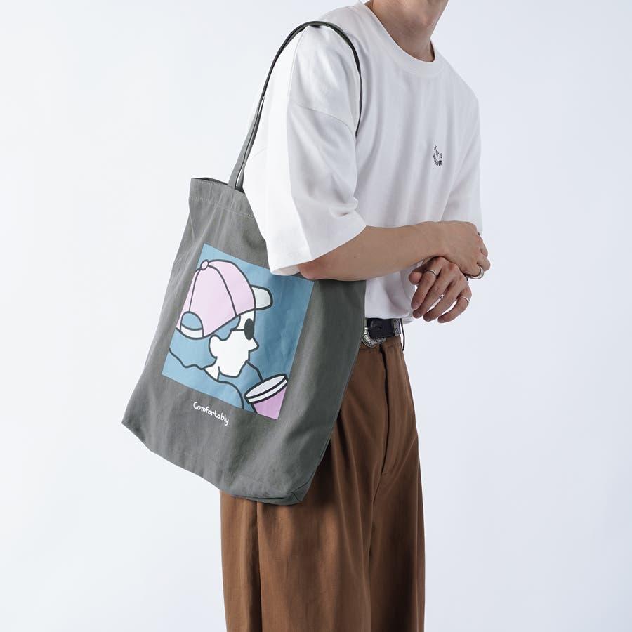 【kutir】アートプリントトートバッグ 23