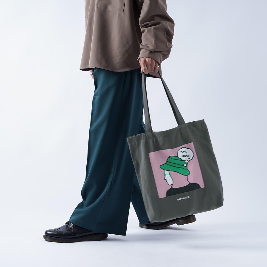 【kutir】アートプリントトートバッグ 26