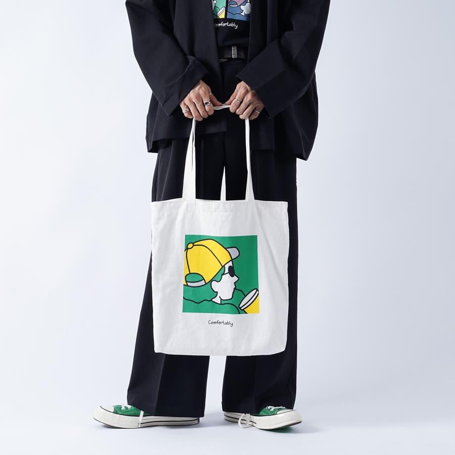 【kutir】アートプリントトートバッグ 16