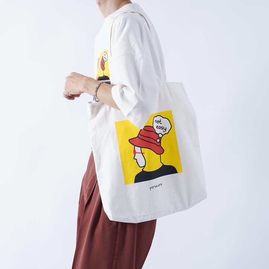 【kutir】アートプリントトートバッグ 17