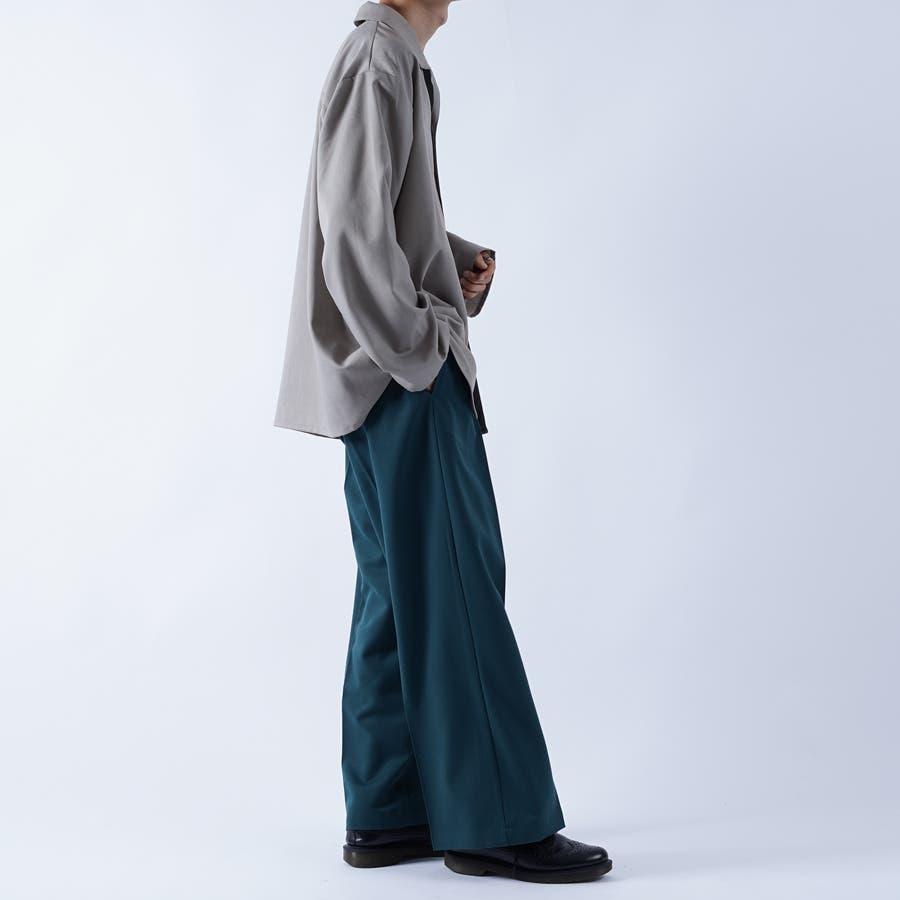 【kutir】袖ボタンレスオープンカラーシャツ 4