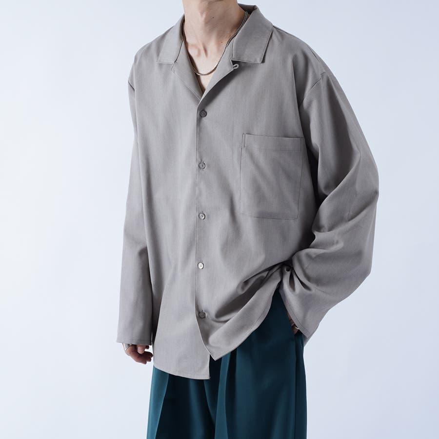 【kutir】袖ボタンレスオープンカラーシャツ 6