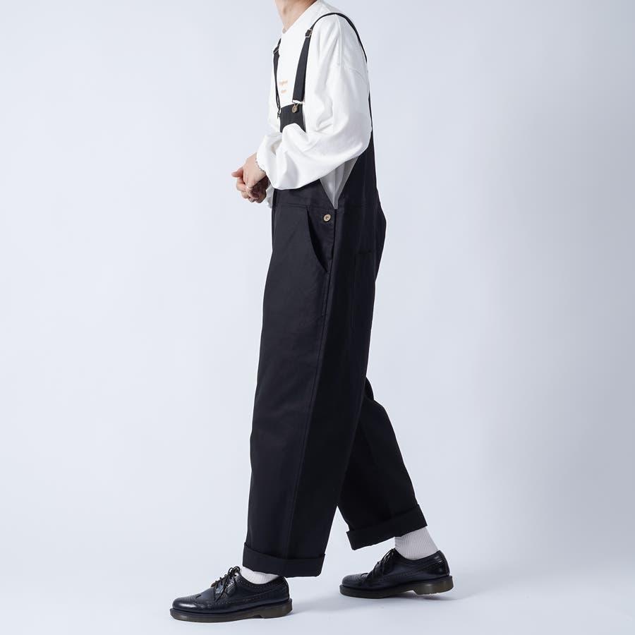 【kutir】ワイドオーバーオール 21