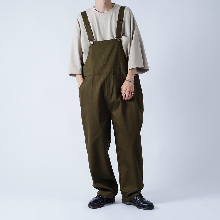 【kutir】ワイドオーバーオール 53