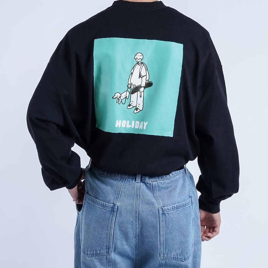 【kutir】サトウリョウタロウ コラボロングTシャツ 21