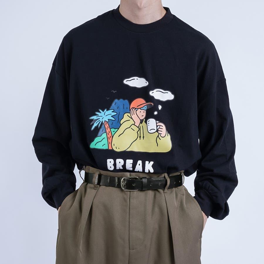 【kutir】サトウリョウタロウ コラボロングTシャツ 23