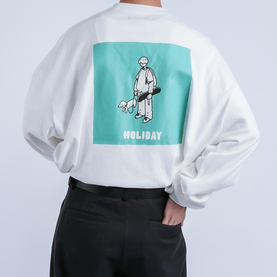 【kutir】サトウリョウタロウ コラボロングTシャツ 108